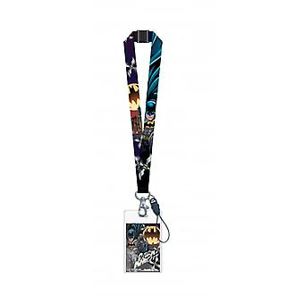 Lanyard - DC Comics - Batman con card holder nuevo 45901
