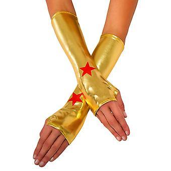 Wonder женщина взрослый костюм запястье рукавицы