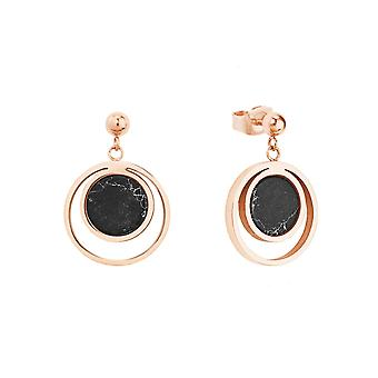 s.Oliver Jewel Women's Earrings Studs Stainless Steel IP ROSE 2026184
