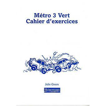 Metro 3 Vert Workbook Euro Edition (Pack of 8) - 9780435383237 Book