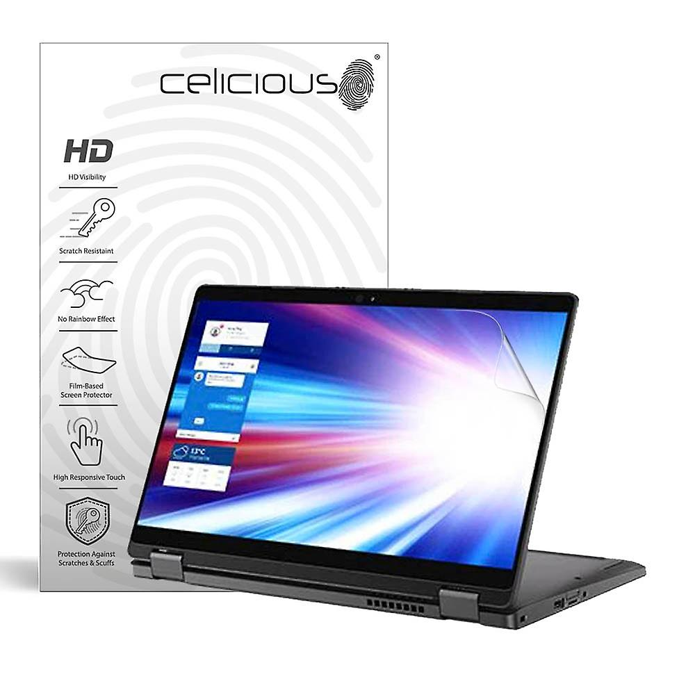 Celicious Vivid Invisible Glossy HD Screen Protector Film kompatibel mit Dell Latitude 13 5300 (2-in-1) [Pack of 2]