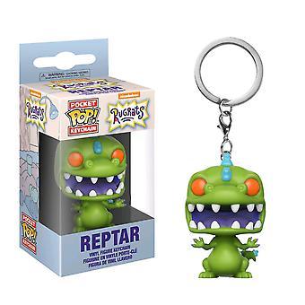 Rugrats Reptar US exklusive Pocket Pop! Schlüsselbund