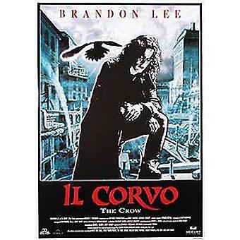 O corvo (Reprint italiano) reprint poster