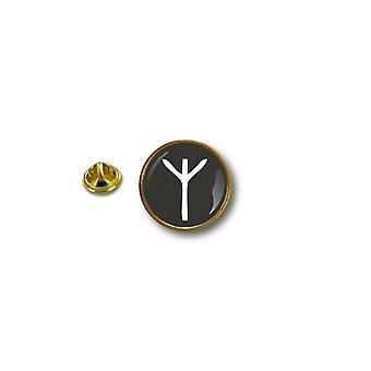 Kiefer Pines Pin Abzeichen Pin-Apos;s Metall Brosche Rune Viking Odin Vinland Runique Schutz