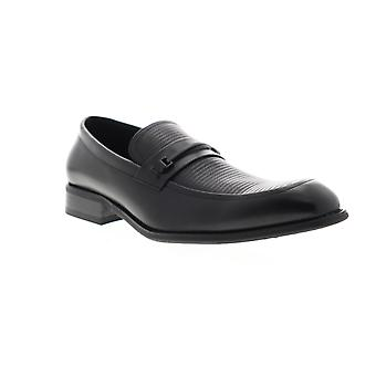 Unlisted by Kenneth Cole Voyage Loafer B Mens Black Dress Loafers Shoes