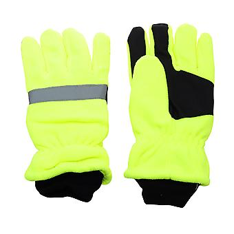 Hi-Vis Adults Reflective, Waterproof Thinsulate Gloves.