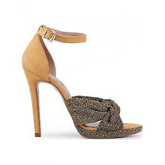 Paris Hilton-skor-sandal-8607_PLATINO-NERO-PESCA-kvinnor-guld, svart-40