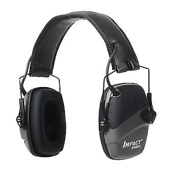 Howard Leight Impact Sport Sound Amplification Electron. Earmuff, Preto #R-02524