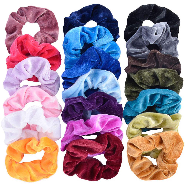 TRIXES Hair Scrunchie Hair Accessories for Girls Elastic Hair Band Multicolour
