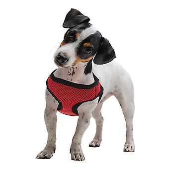Extra Large Red Soft'n'Safe Dog Harness