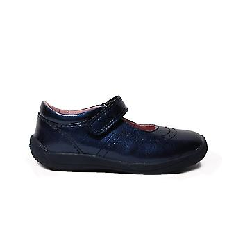 Startrite Super Soft Alice Navy Patent Leather Girls Mary Jane Shoes