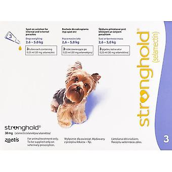 Stronghold Violet Dogs 2.3-4.5kg (5-10lbs) - 3 Pack
