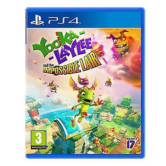 Yooka-Laylee i niemożliwe legowiscy gry PS4