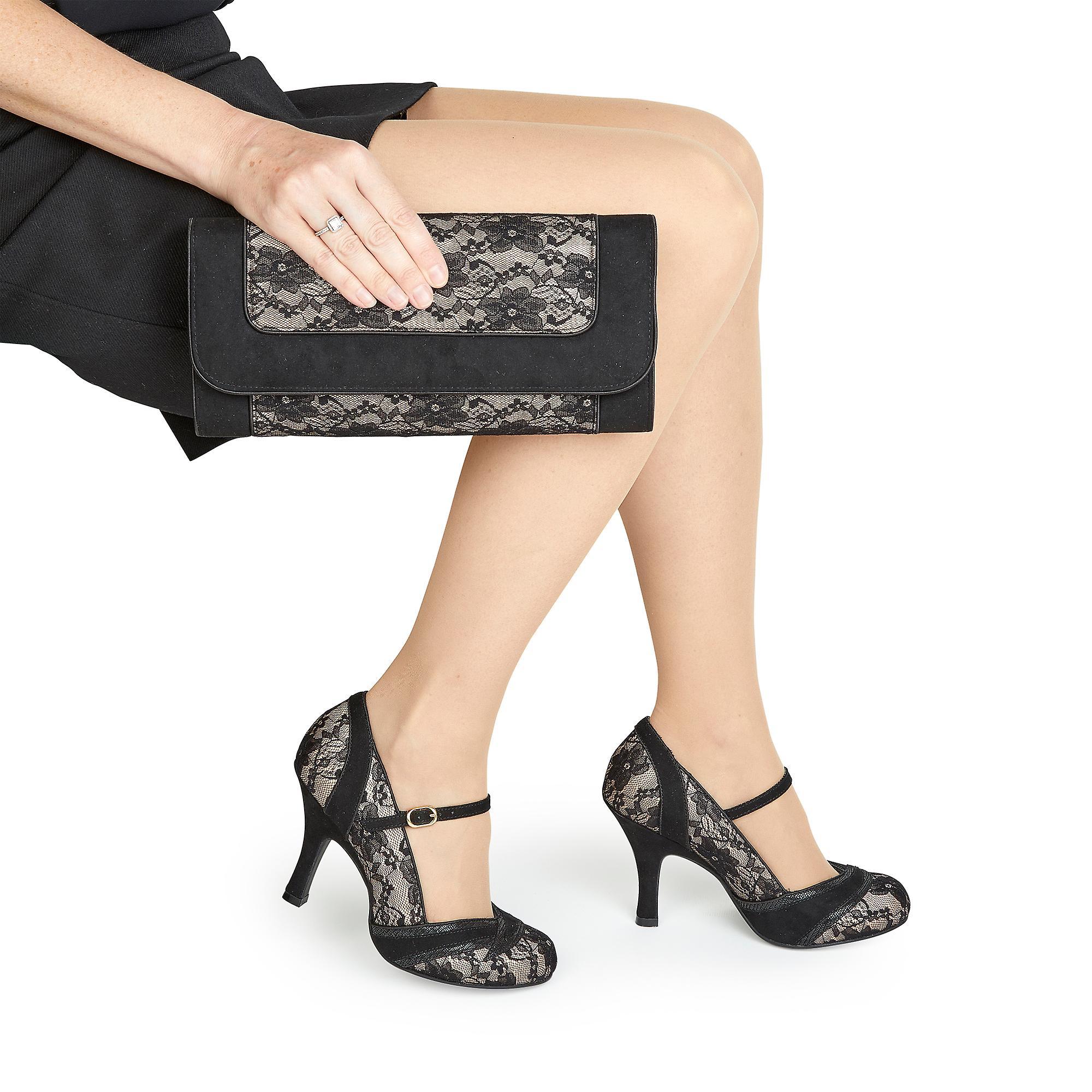Ruby Shoo Women's Delilah High Heel Mary Jane Shoes