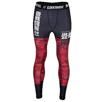 Tatami Fightwear børn væsentlige Camo gamacher sort/rød