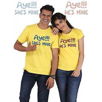 Ja er meins ist, ja ist sie mir paar t-shirts