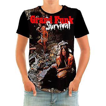 Born2rock - survival - grand funk railroad - t-shirt