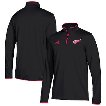 Adidas NHL Detroit Red Wings ClimaLite Quarter-zip Villa paita