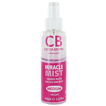 Cocoa Brown Miracle Mist Tanning Water Medium