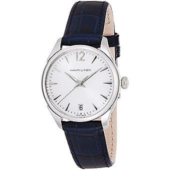 Hamilton dames Quartz analoge horloge met lederen riem H42211655