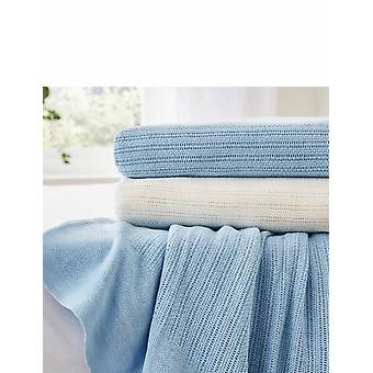 Diana Cowpe Cotton Cellular Blanket