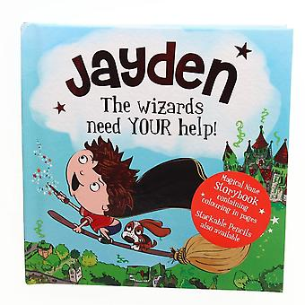 Geschiedenis & Heraldry Magische Naam Storybook - Jayden