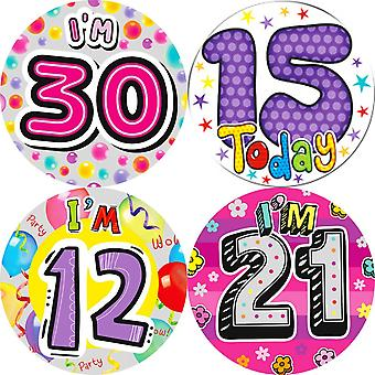 Expression Factory Giant Birthday Badge