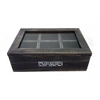 Pudełko na herbatę boulangerie 6-vaks