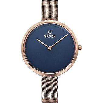 Obaku Dok Azure Women's Blue Dial Wristwatch V227LXVLMV