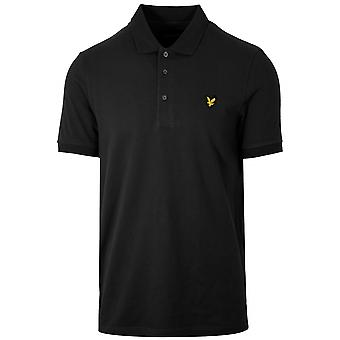 Lyle & Scott  Lyle & Scott Black Polo Shirt