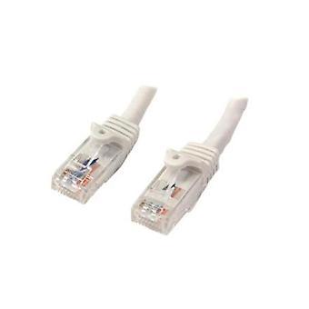 StarTech 7M valkoinen Snagless UTP Cat6 patch-Kaapeli