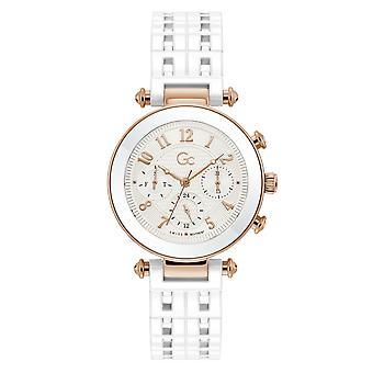 GC Y65001L1MF Women's Primechic White Ceramic Wristwatch