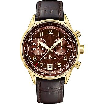 Delbana - Wristwatch - Men - Retro Chronograph - 42601.672.6.104