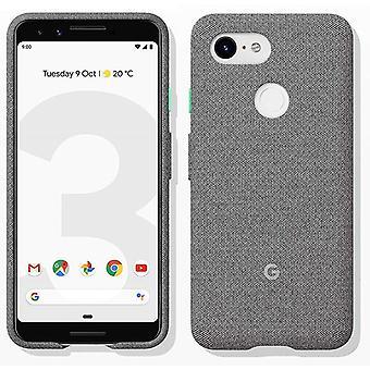 New Genuine Official Google Pixel 3 Fabric Case Cover GA00490 - Fog
