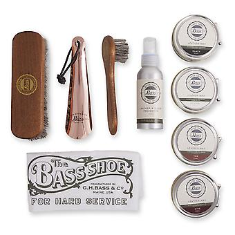 Bass Luxury Gift Box - Shoe Care Kit - shoes and boots