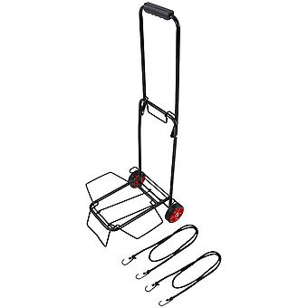 Regatta Mens & Womens Festival Wheeled Bungee Strap Folding Trolley