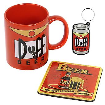 The Simpsons, Gift set - Duff