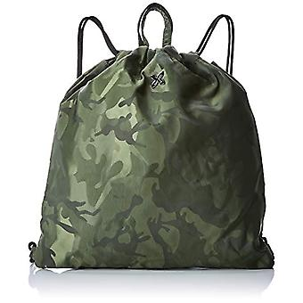 Munich GYMSACK COVERT - Women Green Backpack Bags (Khaki) 41x2x38 cm (W x H L)
