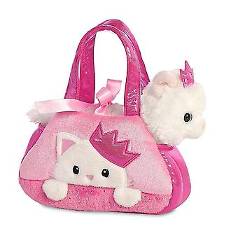 Fancy Pals Peek-a-Boo Princess Kitty in Carry Bag