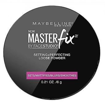 Réglage de correction de maître maybelline - Perfectionner la poudre lâche