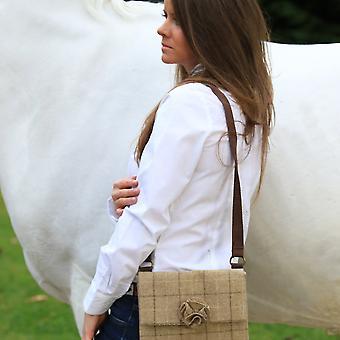 Ella handbag - Slate Oatmeal