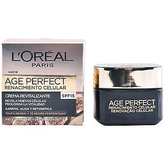 Nährende Tagescreme Alter Perfekte L'Oreal Make Up Spf 15 (50 ml)