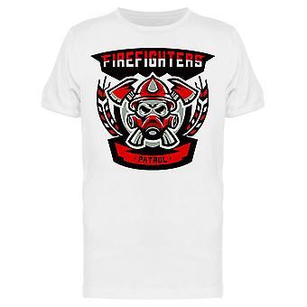 Firefighters, Emblem Tee Men's -Image by Shutterstock