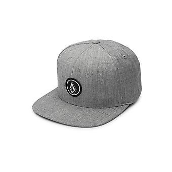 Volcom mænds Cap ~ fjerdedel Twill grå
