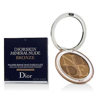 Diorskin minerální nahý nahý zdravý lesk bronzování prášek # 06 teplé západ slunce 227942 10g/0.35oz