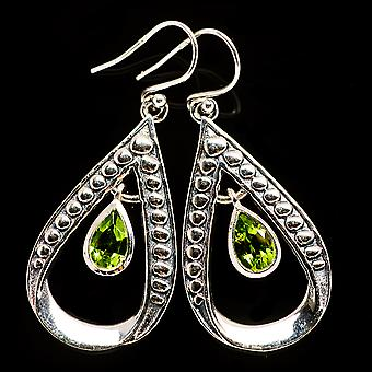 Peridot Earrings 1 3/4