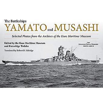De slagschepen Yamato en Musashi - Geselecteerde foto's uit de archieven