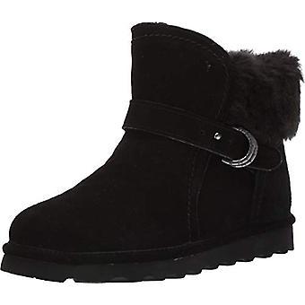 Bearpaw Womens Koko Fabric Almond Toe Ankle Fashion Boots