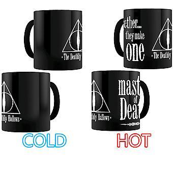 Harry Potter Deathly Hallows Heat-Changing Mug