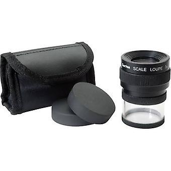 Handheld magnifierincl. graduationMagnification: 7 xLens size: (Ø) 25 mmBlackIdeal Tek M120714 lenses